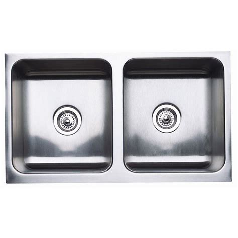 Steel Kitchen Sinks Shop Blanco Magnum Stainless Steel Basin Apron Front Farmhouse Kitchen Sink At Lowes