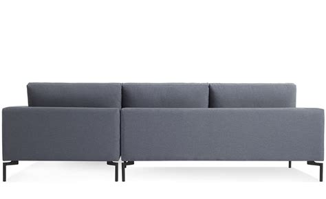dot standard sofa standard sofa with chaise hivemodern com