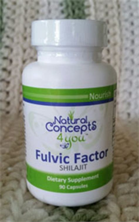 Humic Fulvic Acid Master Detox by Concepts 4 You Echinacea Fulvic Acid Shilajit