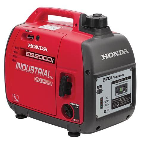 honda 2 000 watt gfci portable gas powered backup