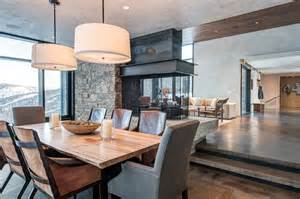 Mountain Home Interior Design by Modern Montana Mountain Home Style Estate