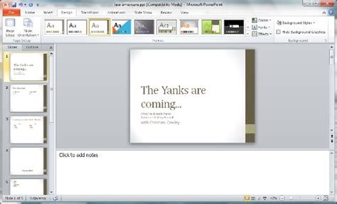 new design for powerpoint 2010 create a new presentation with powerpoint 2010