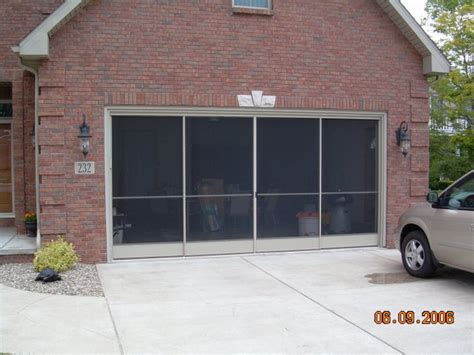 Patio Screen Door Installation by Garage Screen Door Patio Enclosure Installation Gallery