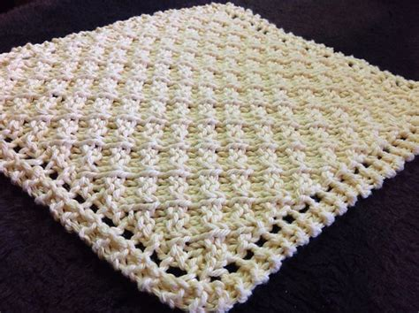 waffle knit dishcloth pattern en francais 1000 ideas about knitted washcloths on pinterest knit