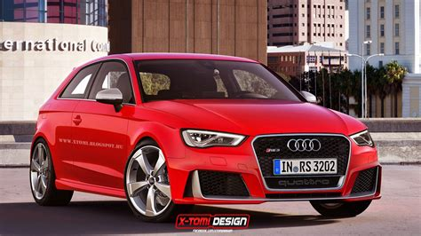audi rs3 2 door new audi rs3 rendered as 3 door sedan and cabriolet
