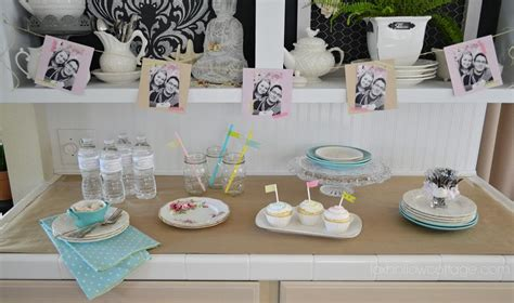 Kitchen Ideas On A Budget by Budget Bridal Shower Decor And Ideas Fox Hollow Cottage