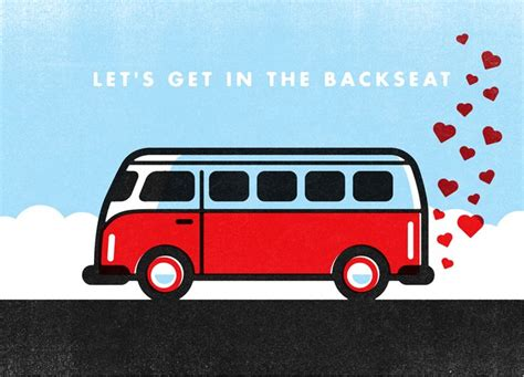 volkswagen valentines 92 best send a valentine images on pinterest