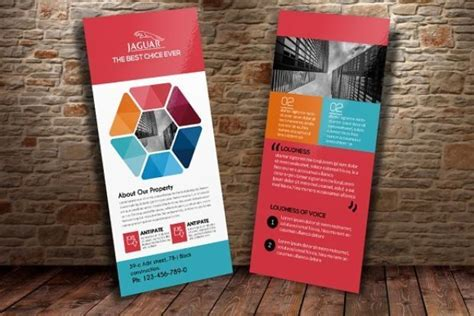4 x 9 rack card with bleed psd template 20 free and premium rack card templates webprecis