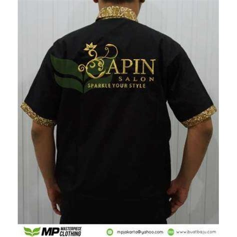 design baju elektronik buat baju contoh design kemeja apin salon seragam