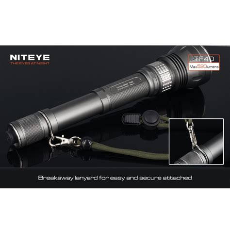 Senter Led Cree niteye tf40 senter led cree xm l u2 520 lumens black