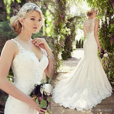 Vintage Modest Wedding Dresses by Aliexpress Buy Vintage Lace Mermaid Modest