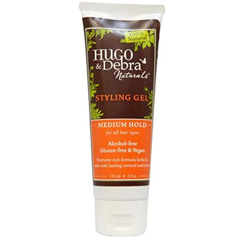 styling gel types hugo naturals styling gel for all hair types medium hold