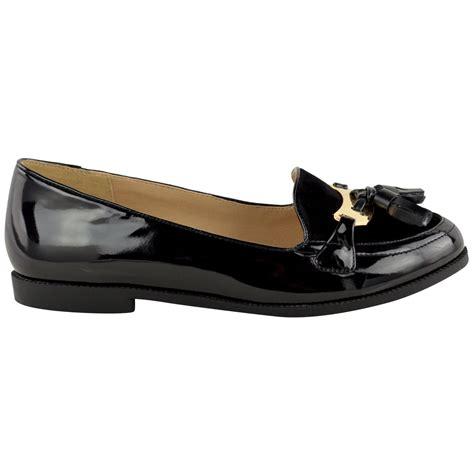 school loafers womens new flat office school shoes smart