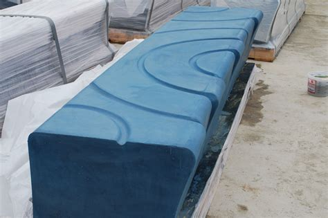 precast concrete benches custom project design lhv precastlhv precast
