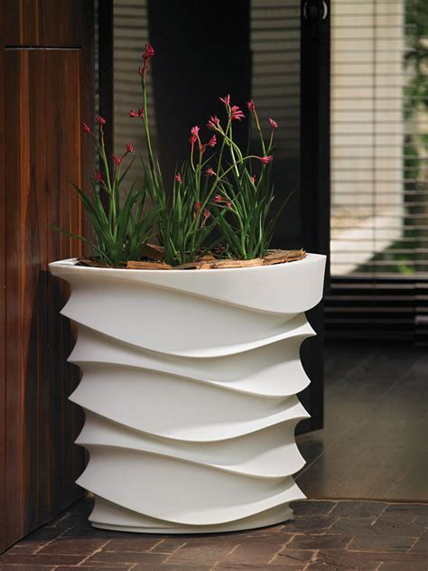 large designer garden pots video