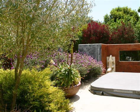 Un jardín mediterráneo en California