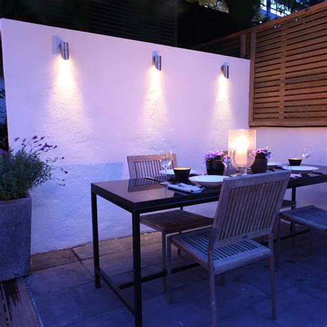 Lit Up Your Compound And Garden With Garden Wall Lights Patio Wall Lighting