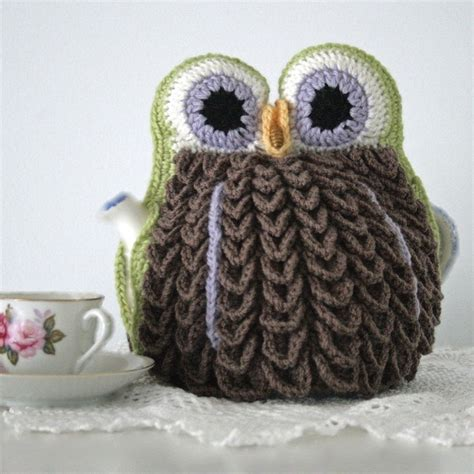 owl tea cosy knitting pattern free owl tea cosy i don t even own a tea pot but for this i
