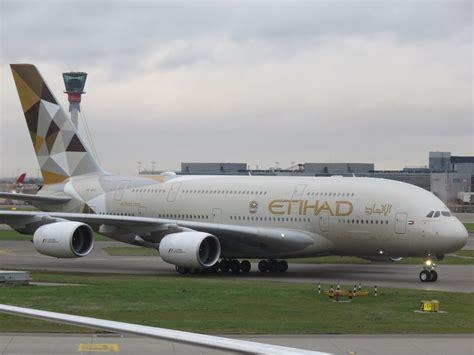 Etihad Airways etihad airbus a380 class to abu dhabi the