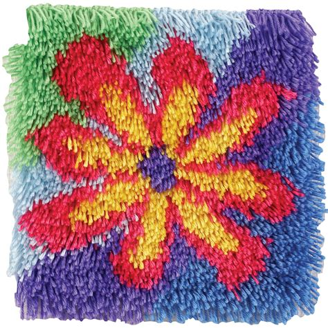 12x12 Rug Clearance by 12x12 Latch Hook Kit Kmart