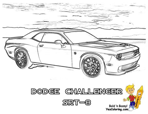 new car coloring page dodge coloring pages 2777