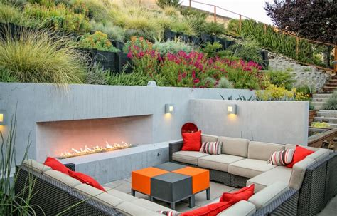 best lights for the backyard sitting area sunken designs let you explore the depths of style