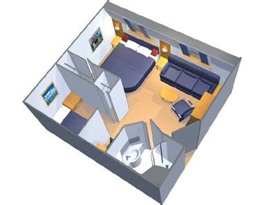 Mgm Signature 2 Bedroom Suite Floor Plan by Family Ocean View Stateroom