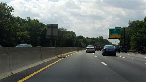 garden state parkway exits 168 to 155 southbound