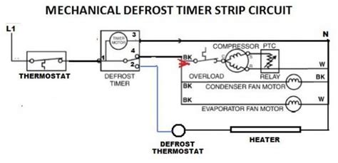 the defrost timer wiring diagram wiring diagram manual