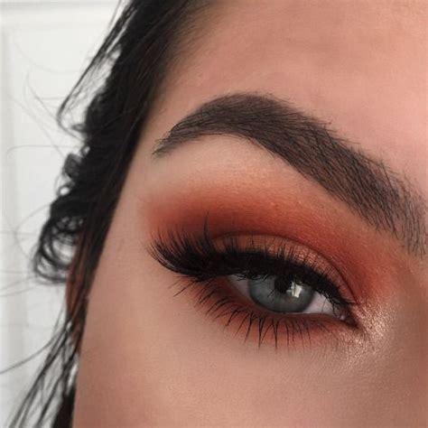 Eyeshadow Orange best 25 orange eye makeup ideas on prom eye