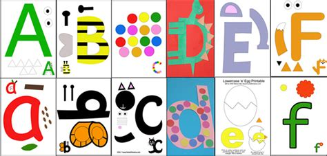 printable alphabet letters for crafts printable letter of the week crafts