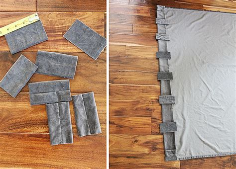 curtain grommets diy how to turn a grommet top curtain into a back tab curtain