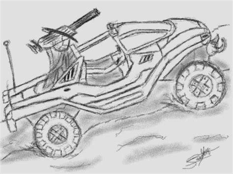 halo warthog drawing dibujos dehalo imagui