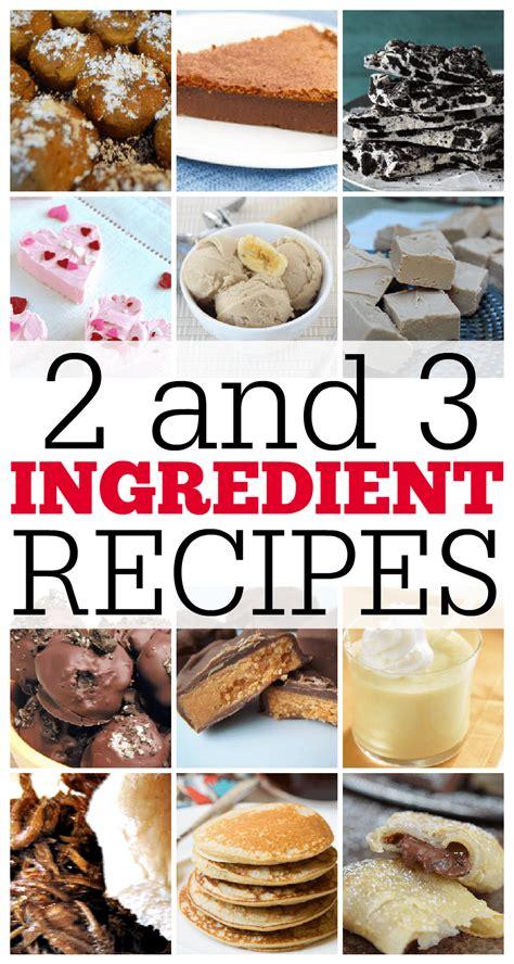 ingredient recipes