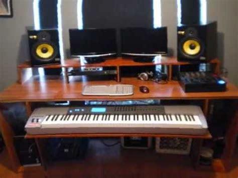 home studio production desk how to build a production desk