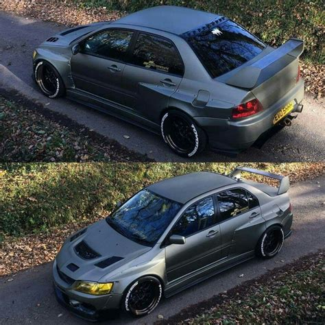widebody evo functional widebody evo 9 dream garage pinterest evo