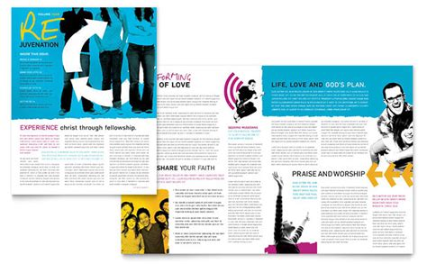 church magazine template church outreach ministries newsletter design template by
