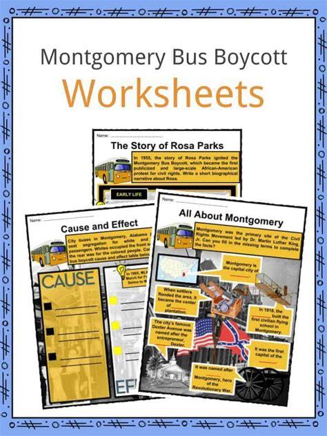 Montgomery Boycott Significance Essay by Montgomery Boycott Facts Worksheets Significance Impact