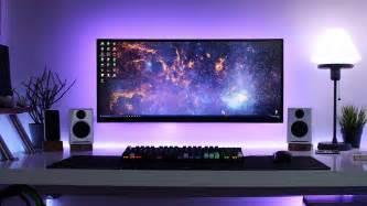 minimal desk clean minimal desk setup cable management goals setup