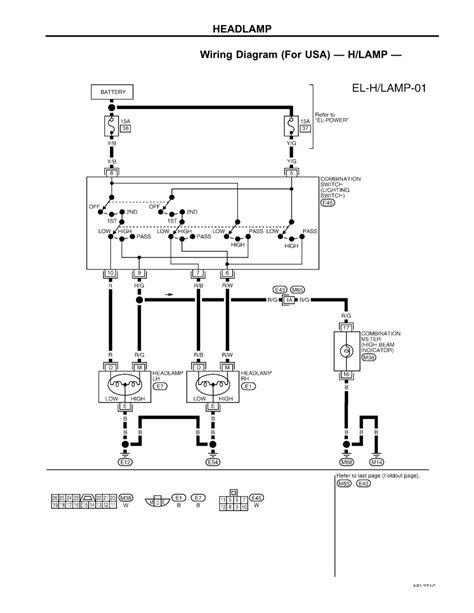 Nissan Xterra Headlight Wiring Harnes - Wiring Diagram