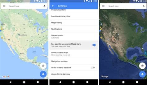 view maps android maps android beta gets satellite view and new features
