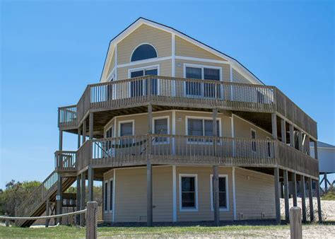 outer banks 4x4 house rentals almost paradise 9036 4x4 carova vacation rental