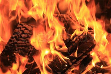 close up fireplace burning fire close up fireplace close up stock photo
