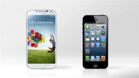 iphone s4 samsung galaxy s4 vs iphone 5 test de velocidad iphone