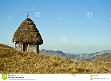 Cottage On A Hill by Cottage On A Hill Stock Photos Image 21802983