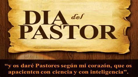 mensaje para el da del pastor d 205 a del pastor amip