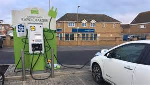 Free Electric Vehicle Charging Uk Pod Point And Lidl Offer Free Ev Rapid Charging At Stores
