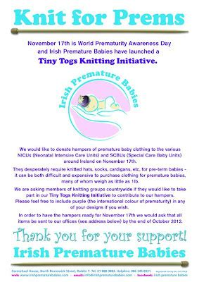 knitting for charity ireland the woolly way of ireland knit for prems tiny togs