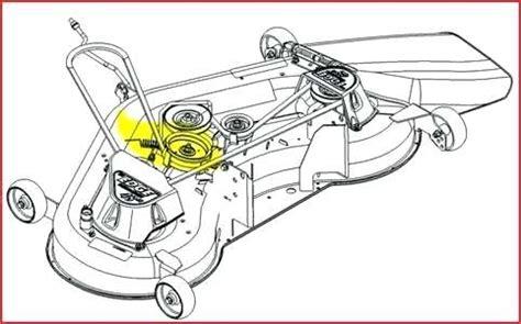 john deere l130 mower deck parts belt diagram for riding