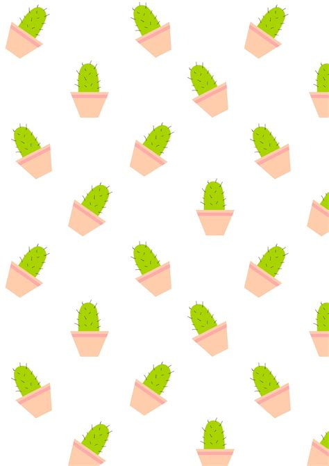cute pattern clipart free printable cactus pattern paper free printables and